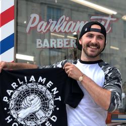 Kevin Sawyer - Parliament Barber Shop