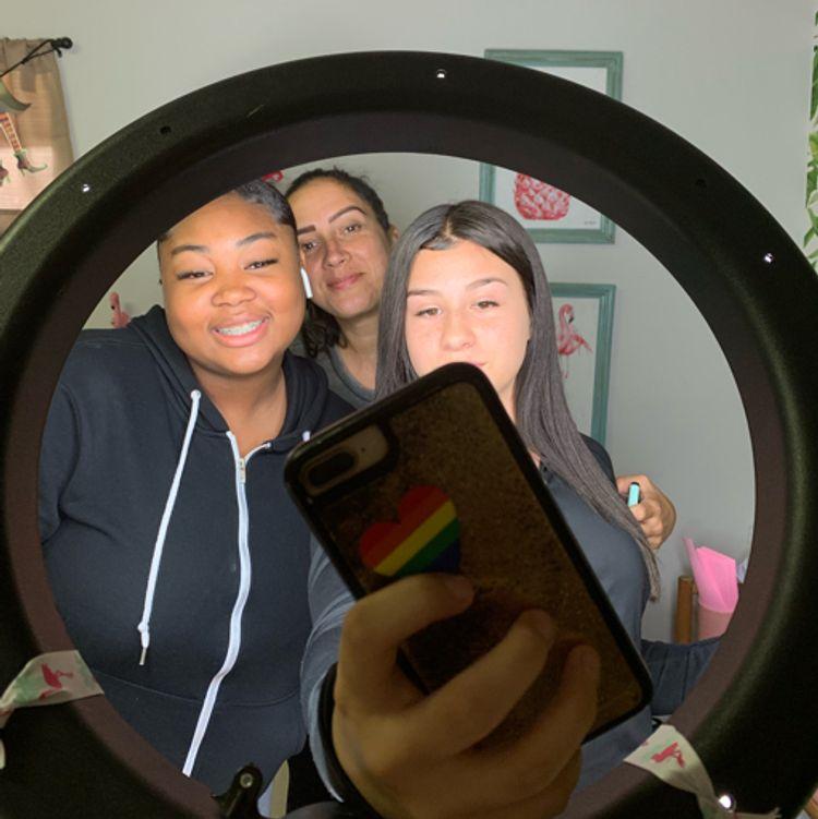 Clients Selfies