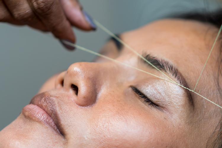 Siri Eyebrow Threading