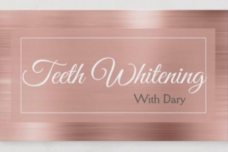 Teeth Whitening With Dary