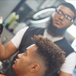 Jordan the Barber @ The Original Barbershop, 4024 N. Tenaya Way, Las Vegas, NV, 89129