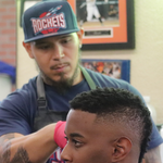 Tank At Choppers Barbershop