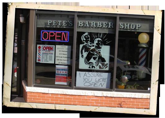 Pete's Barber Shop