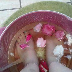Rosy Heels