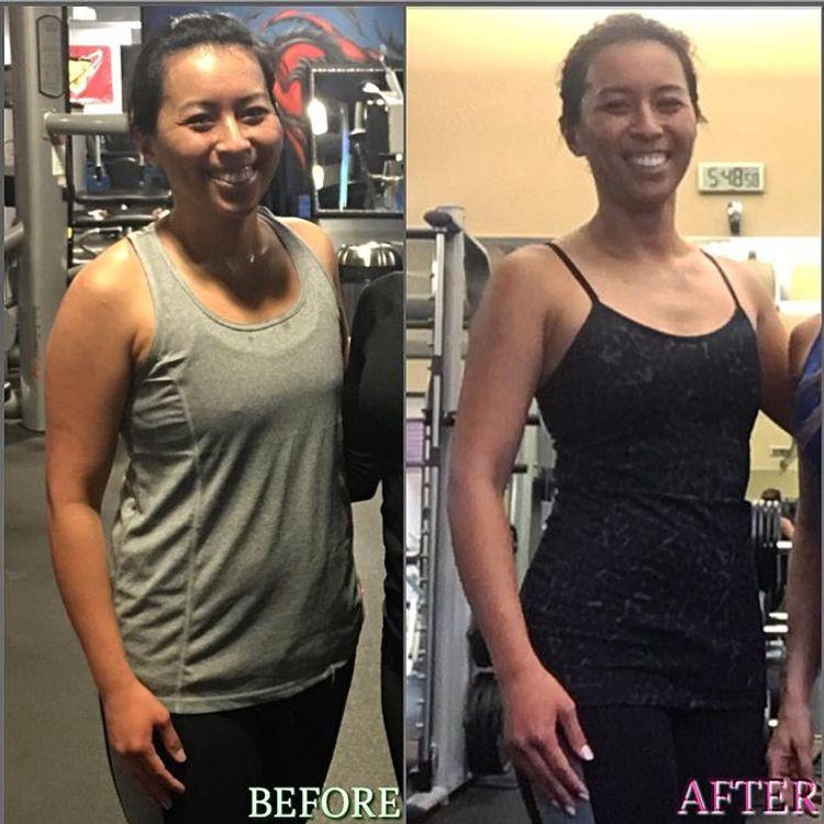 6 month transformation