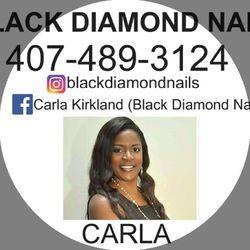 Black Diamond Nails, 6800 N Orange Blossom Trl, #110, Orlando, 32810