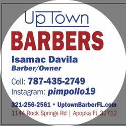 Isamac The Barber - Uptown Barbers, 1144 Rock Springs Road, Apopka, 32712