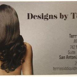 Designs by Terrie, 742 NW Loop 410, Suite 113. Rm 14, San Antonio, 78216