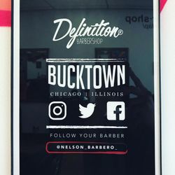Nelson Barbero @ Definition Barbershop, 2245 N Western Ave, Chicago, 60647