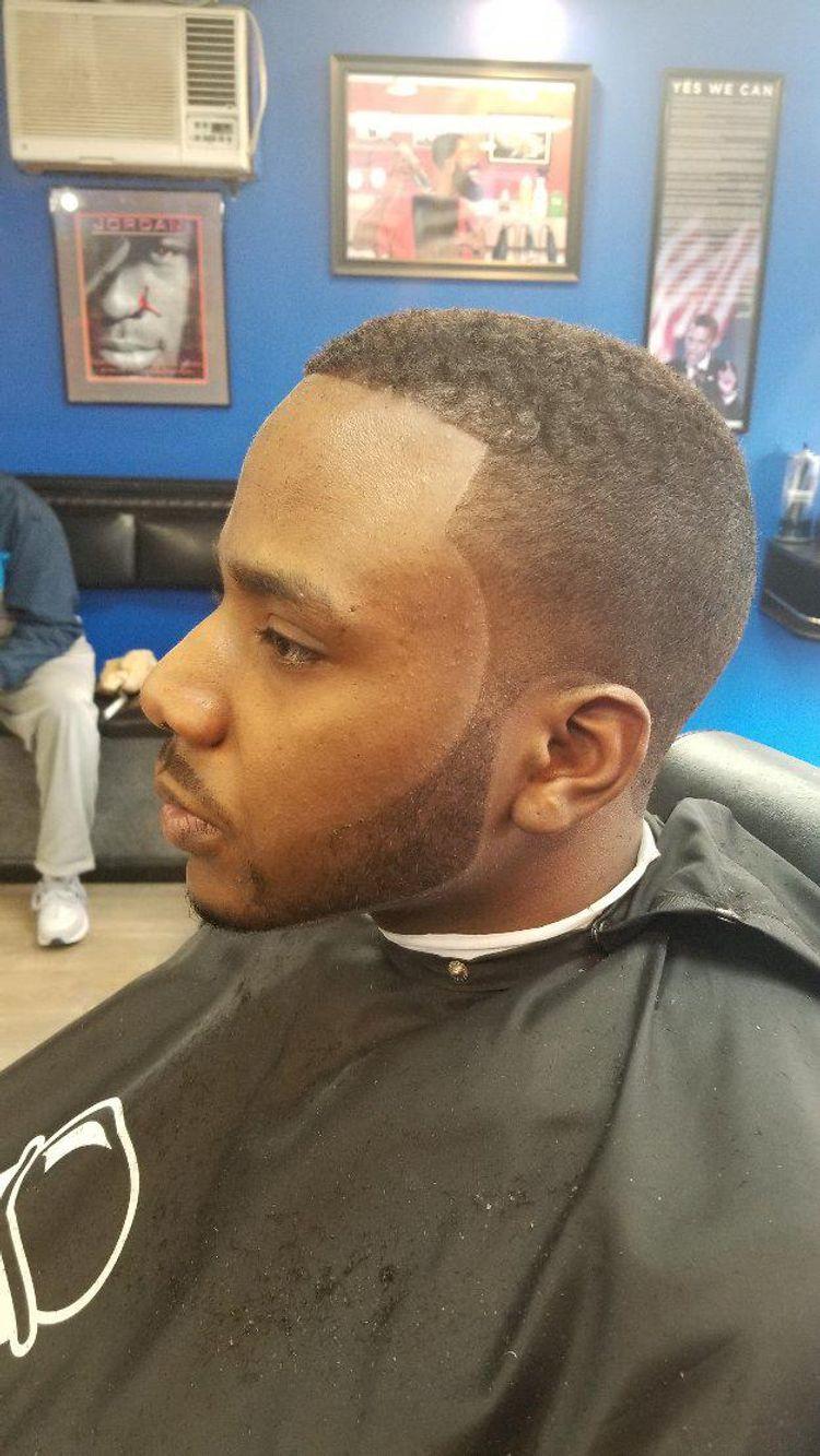 Brush fade w/ beard Haircut by Miz/Mike