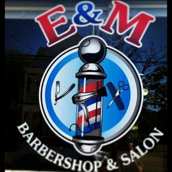 E & M Barbershop & Salon, 38 Saw Mill Rd, West Haven, CT, 06516