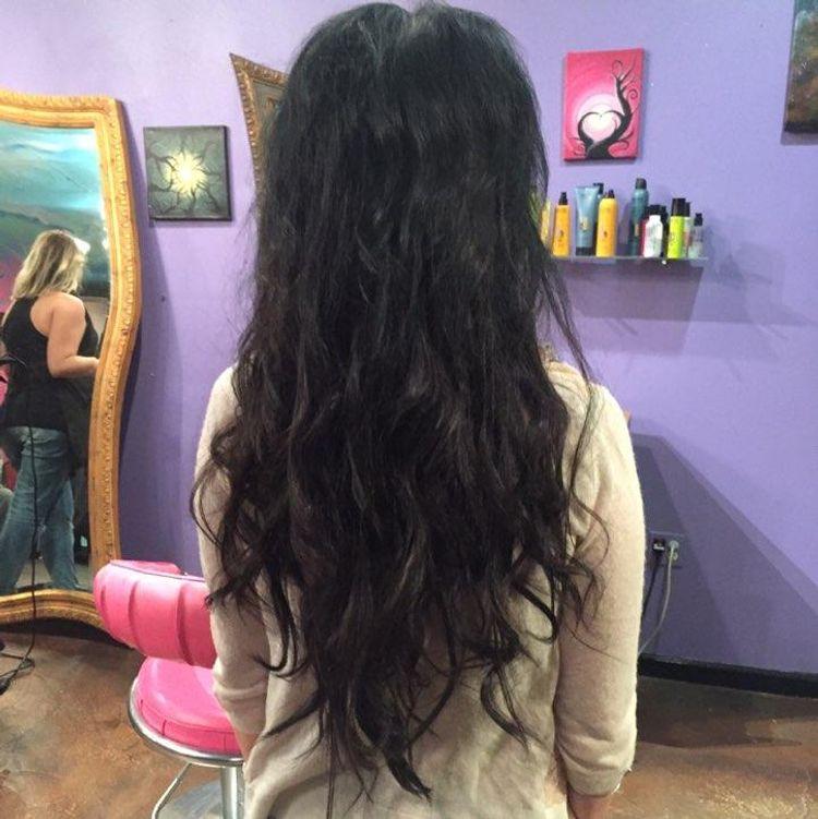 Great lengths hair extensions! Certified specialist Jill Hegarty