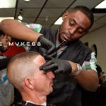 Machete Mike the barber