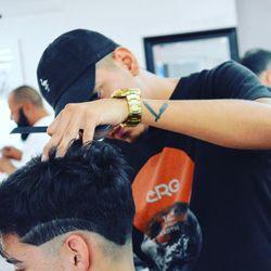 @Osteck Malto - at Top Rank Barbershop, 9230 Potranco, San Antonio, 78251