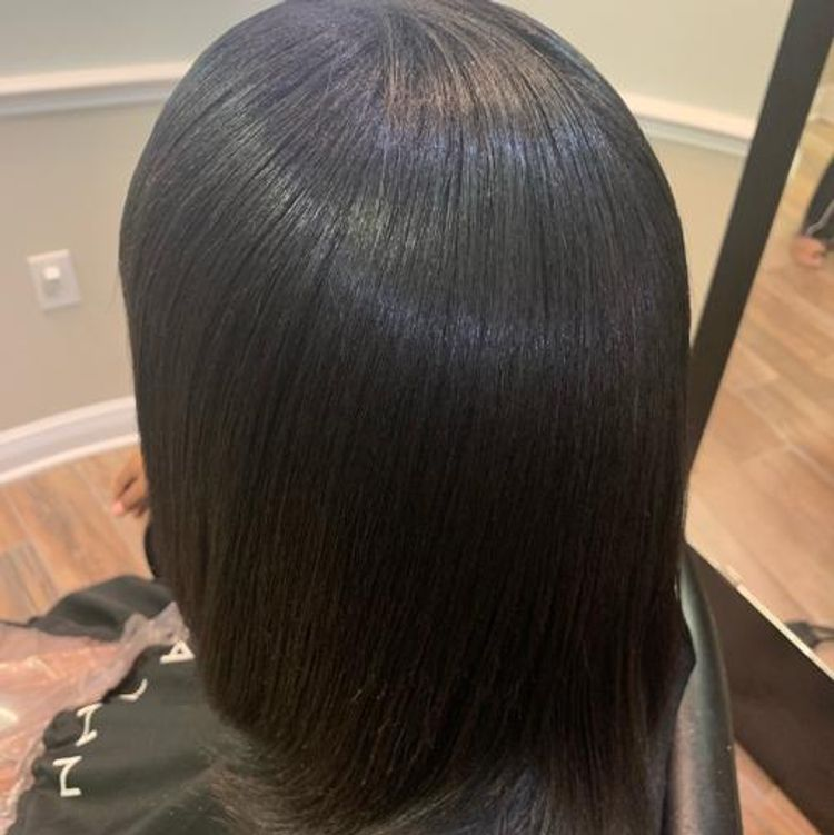 b'Keratin treatment (no chemicals)'