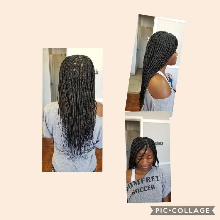 b'Box braids'