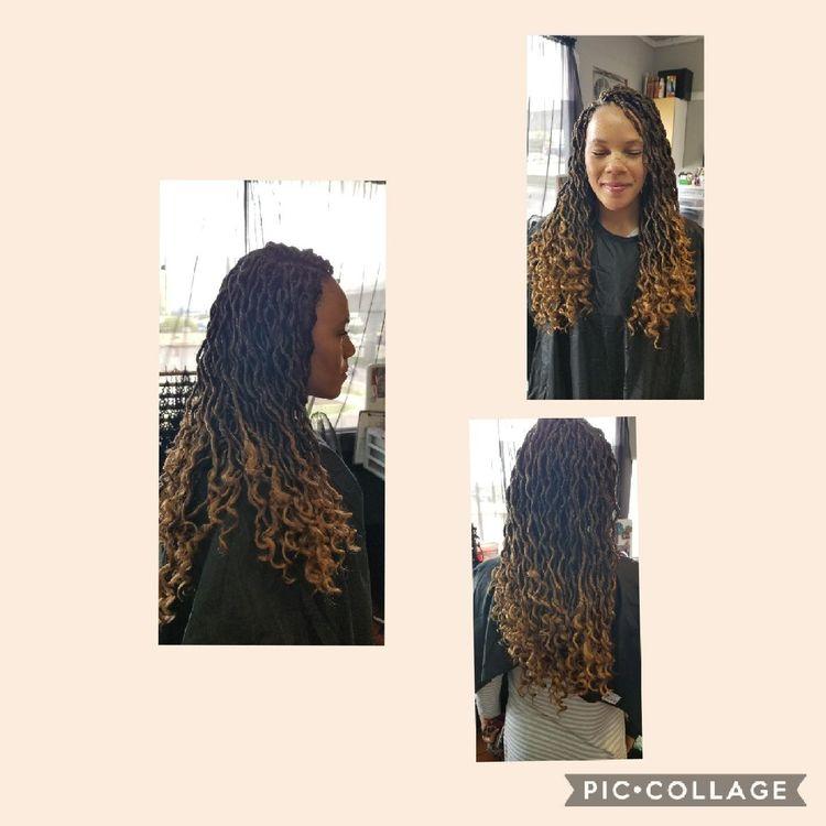 b'Crochet braids'
