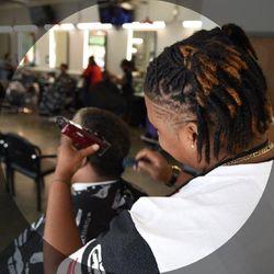 Michelle@ Master Barbers, 296 MacArthur Blvd, San Leandro, 94577