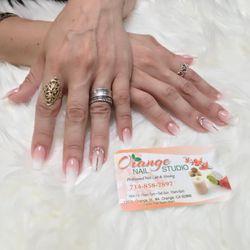 Orange nail studio, 120 S Orange st, Orange, CA, 92866