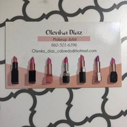 Olenka Makeup Artist, 263 Central Ave, Norwich, 06360