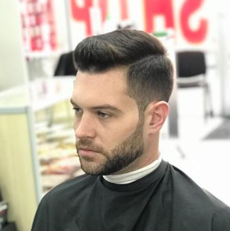 Mens combover hairstyle