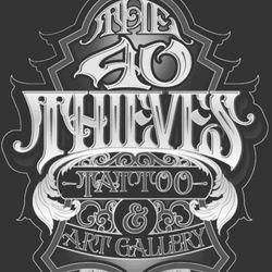 40 Thieves Tattoo & Art Gallery, 2962 Pleasant Hill Rd, Kissimmee, FL, 34746
