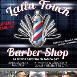 Latin Touch Barbershop 2, 2501 W Busch Blvd, Tampa, FL, 99612