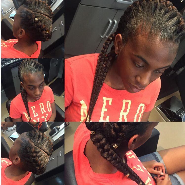 goddess braids by Tenesha Gadson