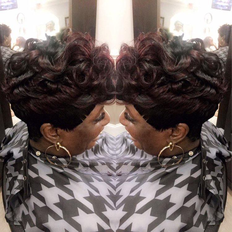 Quick weave style by  Constance purnell
