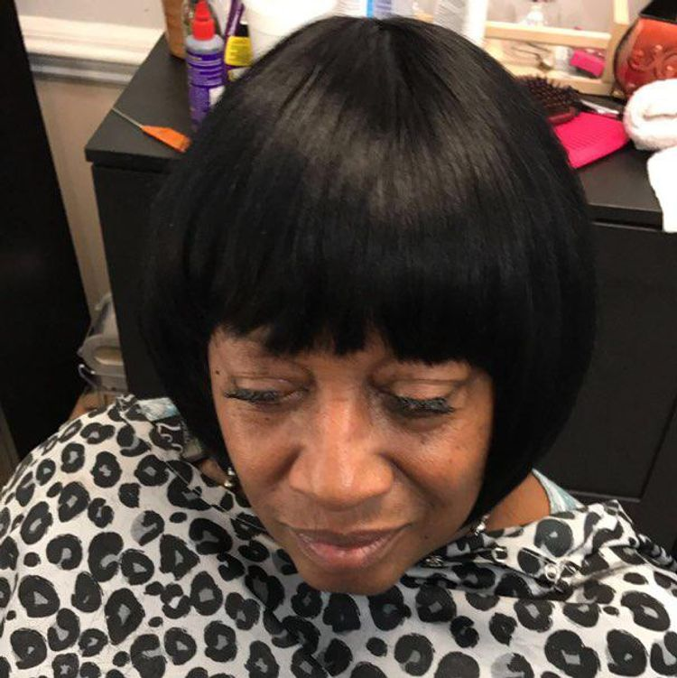 Bob quick weave style by Constance purnell
