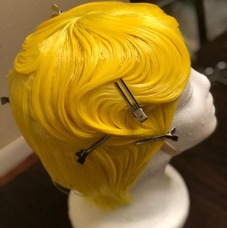 Fingerwave wig