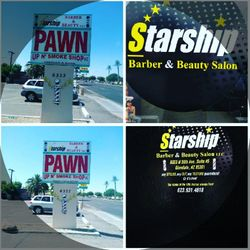 🌟 Starship BARBER & Beauty Salon LLC, 6333 North 59th Avenue, 5, Glendale, 85301