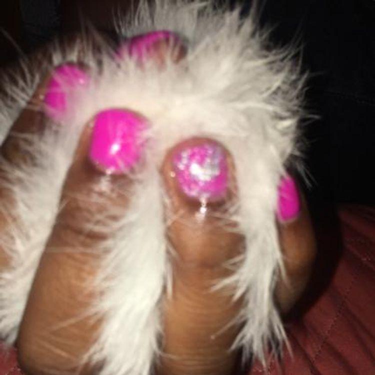 Dip powder nails