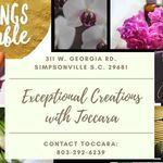 Exceptional Creations with Toccara