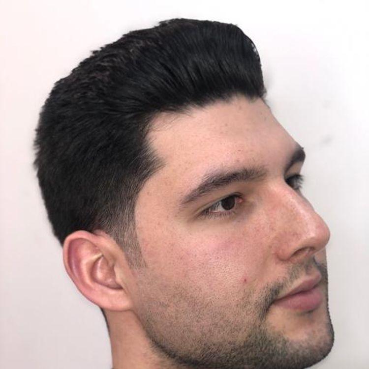 Classic gentlemen haircut