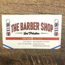 The Barber Shop Of New Palestine, 35 E. Main St, New Palestine, 46163