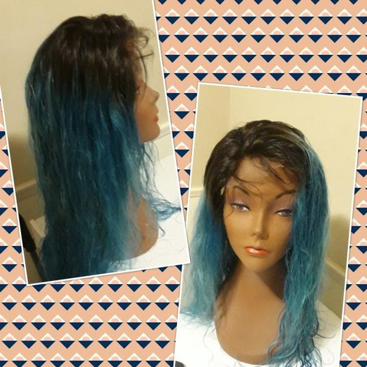 Wig made & Colored