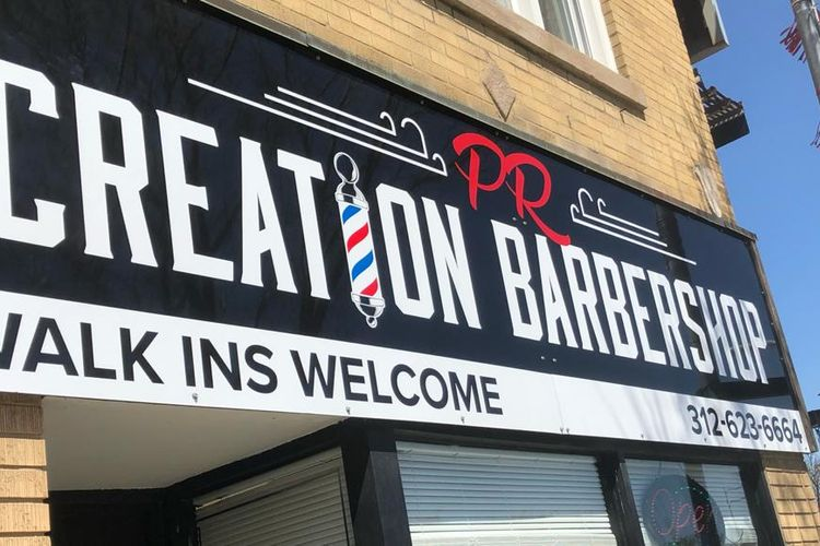 "Luis ""Primo"" the Barber @ Creation Cuts Barbershop"