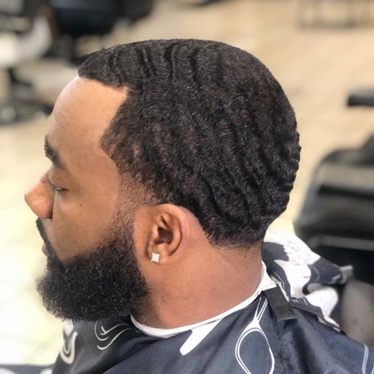 360 Waves. Tapper fade.