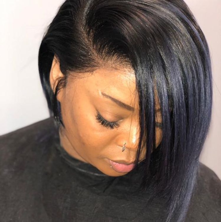 Frontal Quick Weave