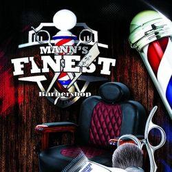 Mann's Finest Barbershop, 6822 N. 50th St., Tampa, FL, 33610
