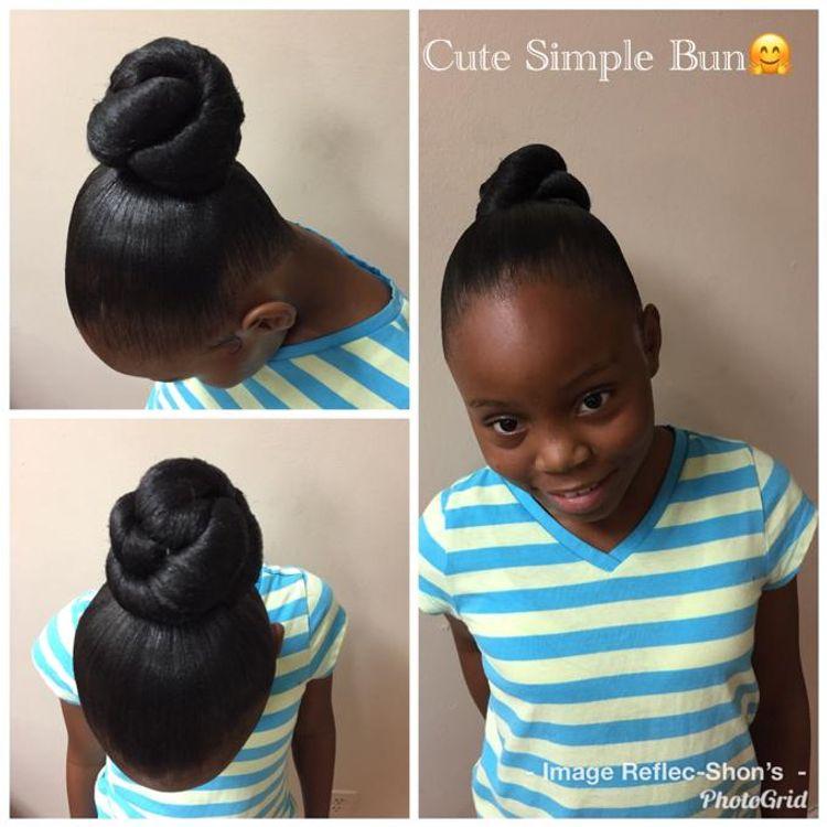 Cute & Simple Bun 😍🥰😘