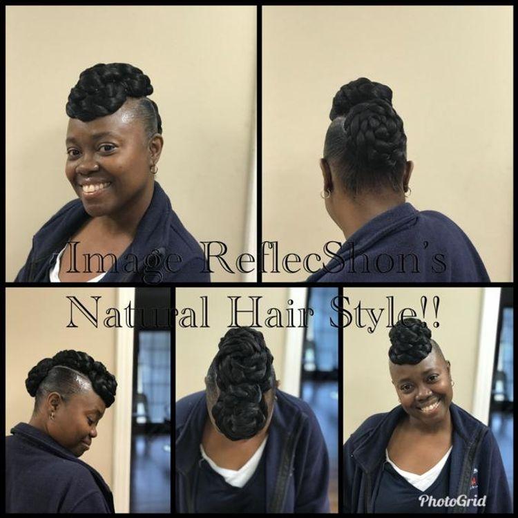 Natural hair style!!!
