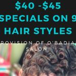 Provision of O'badiah Salon Boutique