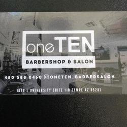 KrystalCutz @ OneTen Barbershop, E University Dr, 1949, Suite #110, Tempe, 85281
