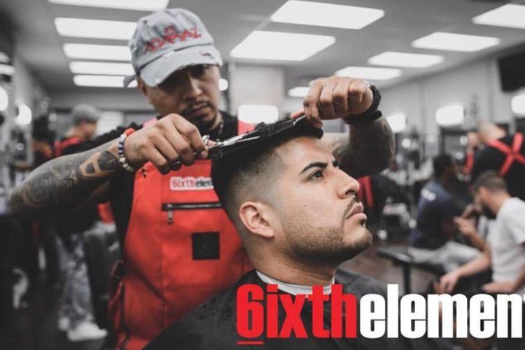Adamaz @ 6ixthelement Barbershop