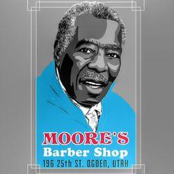 Moores barbershop historic 25th st., 196 25th st., Ogden, 84404
