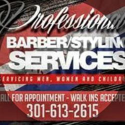 Mac's Professional Barberstyling Services, 2350 Washington Pl. N.E Suit#123, Phenix Salon Suites Suite 123, Washington, 20018