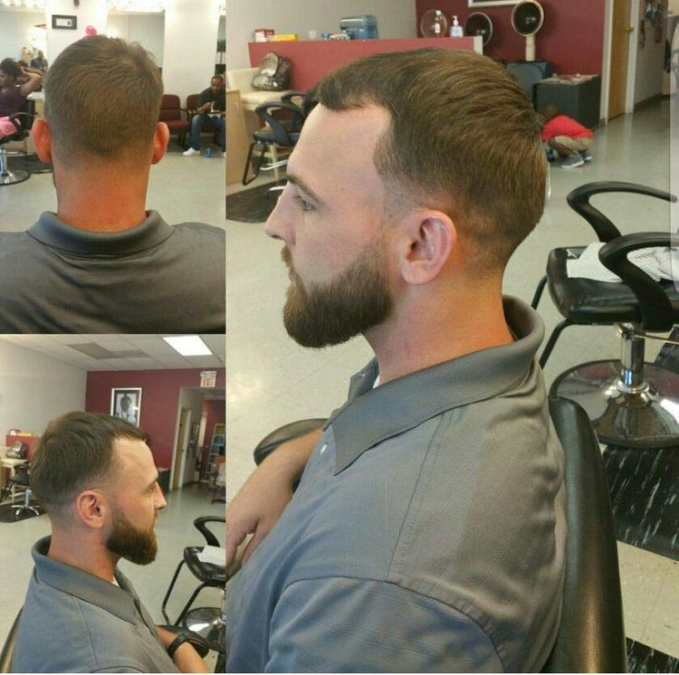 Gentleman's Taper with Beard trim