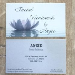 Facial Tretaments by Angie, 11836 Downey Ave #105, Downey, 90241